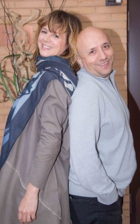 Luis Alegre con Blanca Suárez