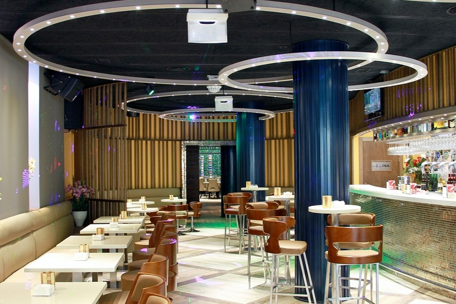 Restaurante Monjardín, Premio Diseño Interior 2018, obra de Máximo Ruiz de Larramendi, José Ramón Torrecilla y Asier Urra.