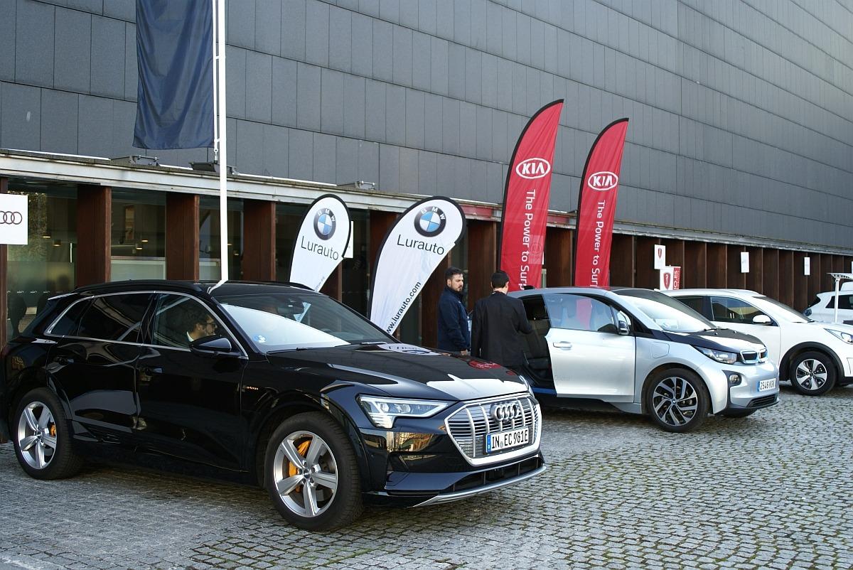 Una gran oportunidad para conducir varios coches eléctricos.