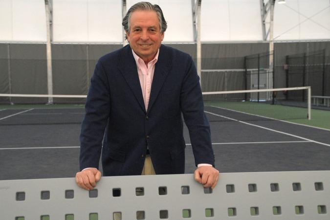 Juan José Almagro, en las instalaciones de Ipartenis, donde ofreció una charla.