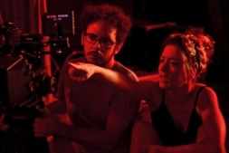 Andrea Jaurrieta dirigiendo 'Ana de día'.