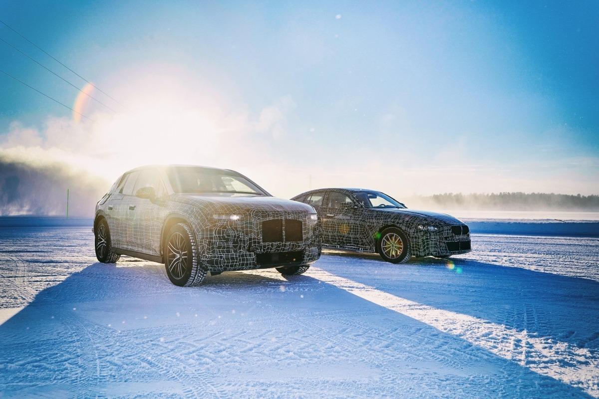 Pruebas de BMW en Suecia.