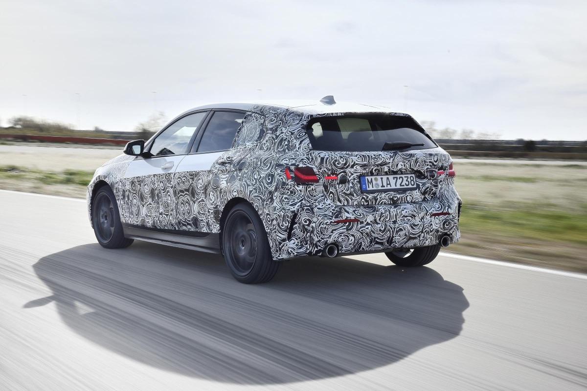 BMW Serie 1, en pruebas.