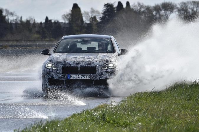 Intensas pruebas para el nuevo BMW Serie 1.