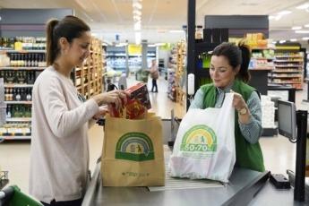 Mercadona ha eliminado las bolsas de plástico desde este 15 de abril.