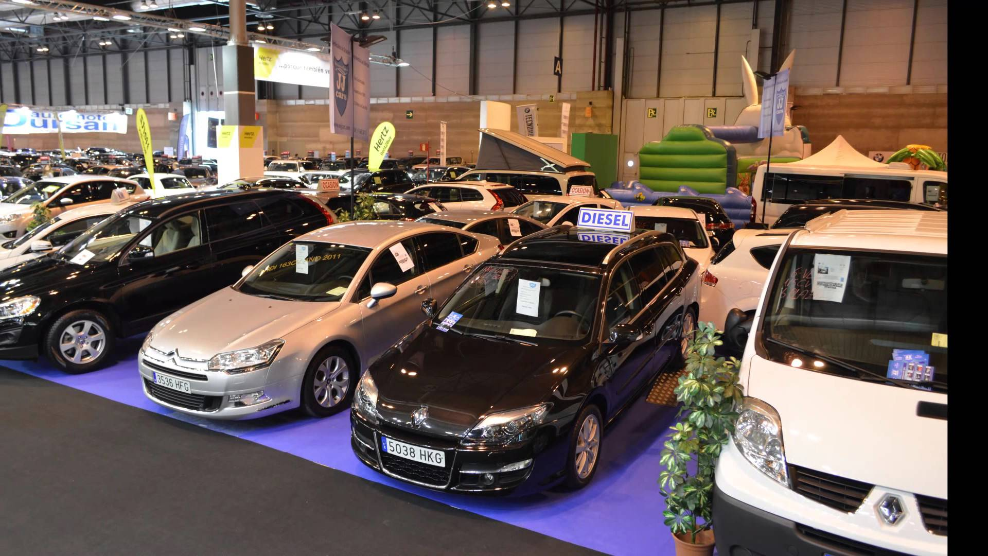 El 63% de las ventas registradas hasta marzo en el mercado de usados sigue correspondiendo a vehículos de gasóleo