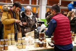 Imagen de la Feria Ecológica de Navarra, recientemente celebrada.