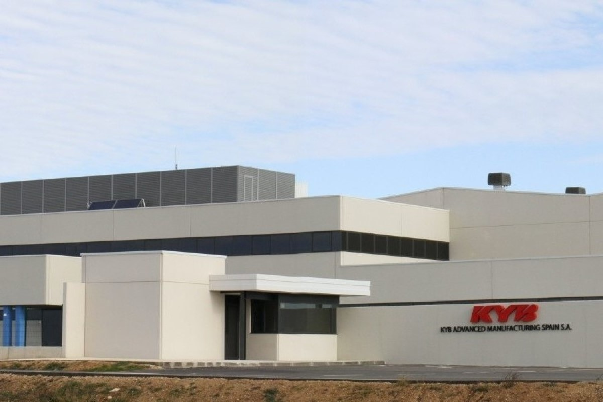 Fábrica de KAMS, en Los Arcos, perteneciente al grupo KYB.