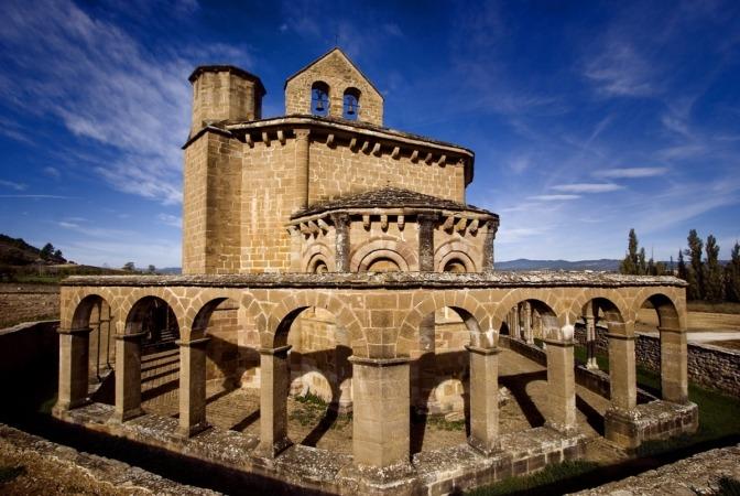 Ermita románica Eunate. (Foto: Patxi Uriz)