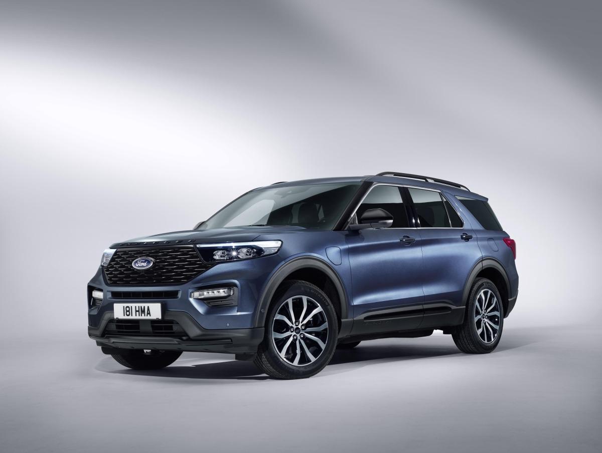 Ford lanzará el Explorer Híbrido a finales de 2019.