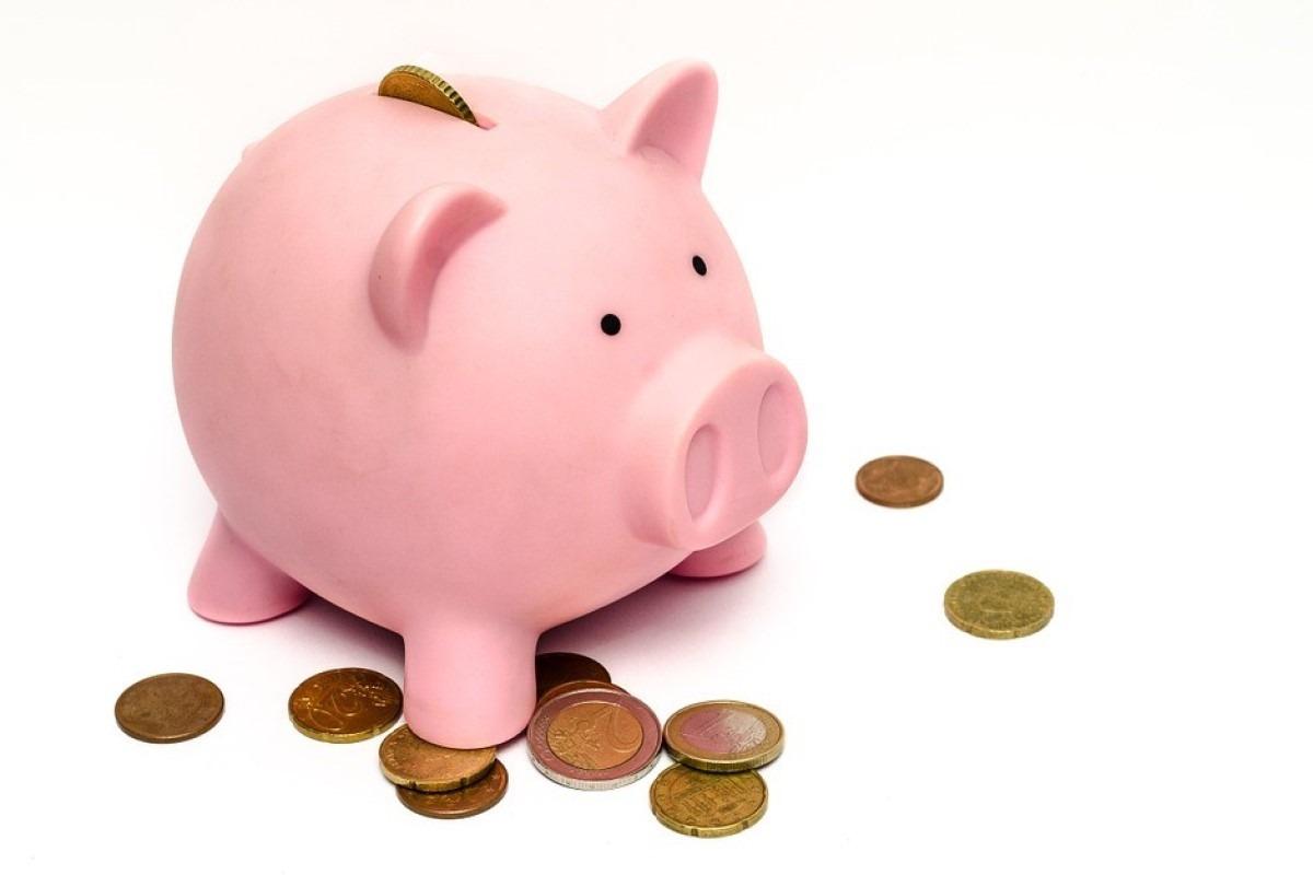 Hucha-ahorrar-Cerdito-Dinero