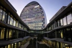 La Vela Ciudad, sede del BBVA en Madrid.