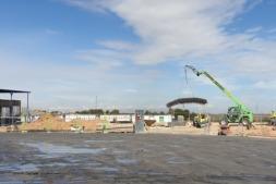 Las obras han comenzado a principios de este mes de abril.