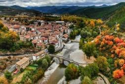 Burgui, en el Valle de Roncal, una de las zonas más visitadas durante la pasada Semana Santa.