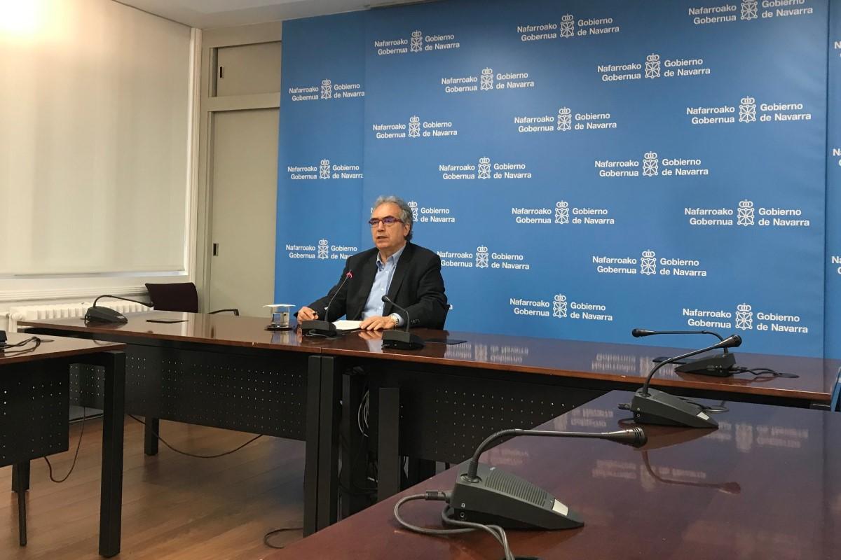 Patxi Tuñón, director  general  del  Observatorio de la Realidad Social, de Planificación y de Evaluación de las Políticas Sociales del Gobierno de Navarra.