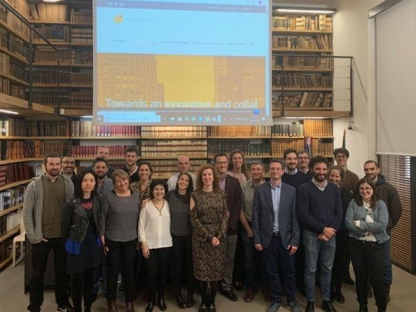 Socios del proyecto REZBUILD en su reciente reunión en Roma.