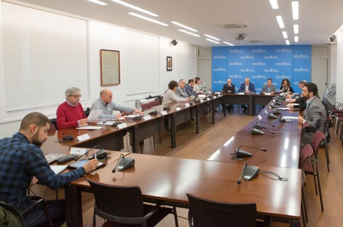 Reunión de la Comisión de Lucha Contra el Fraude Fiscal.