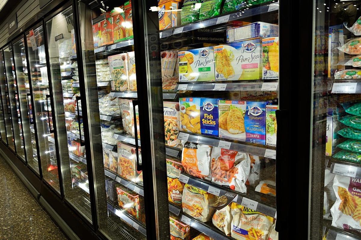 Buena parte de las verduras congeladas por empresas navarras se destina a la exportación.