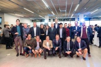 El equipo de Mazda Solauto presenta las nuevas instalaciones y el nuevo Mazda3. (FOTO: Víctor Rodrigo).