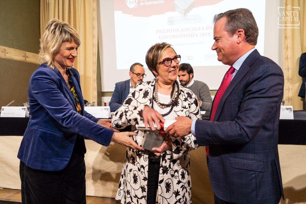 Premio Academia Navarra de Gastronomía 2018