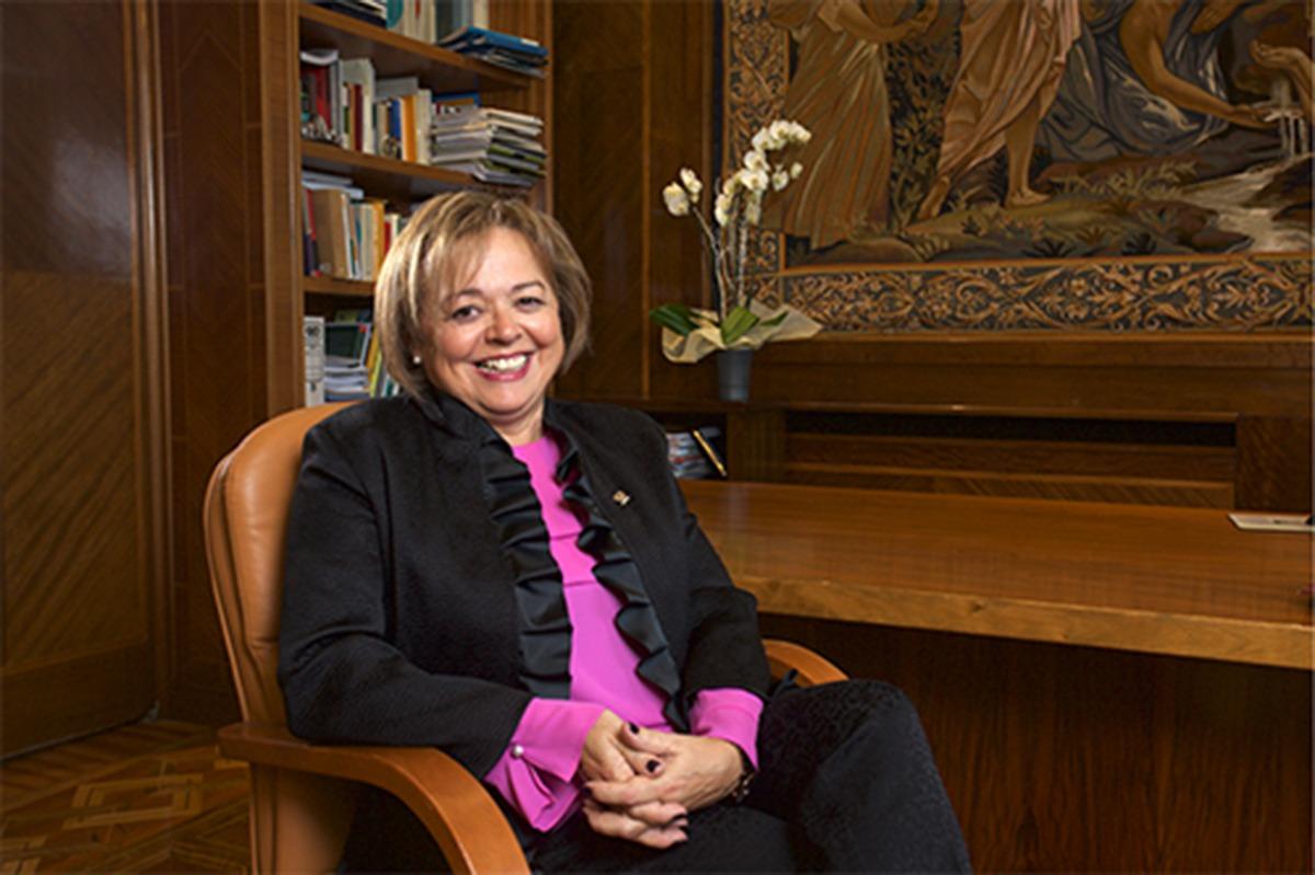 Rosa Menéndez, la presidenta del Consejo Superior de Investigaciones Científicas (CSIC).
