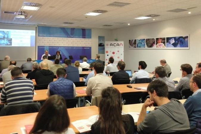 El encuentro de miembros de ACAN que tuvo lugar en las instalaciones de Naitec.