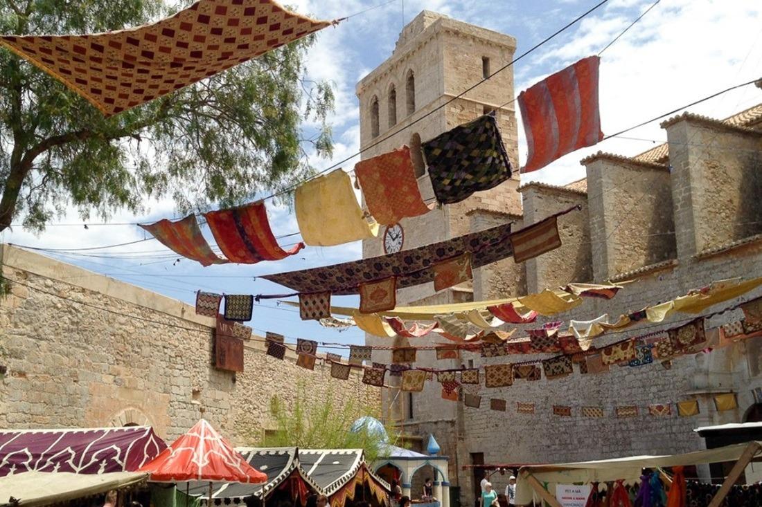 Mercado Medieval de Ibiza.