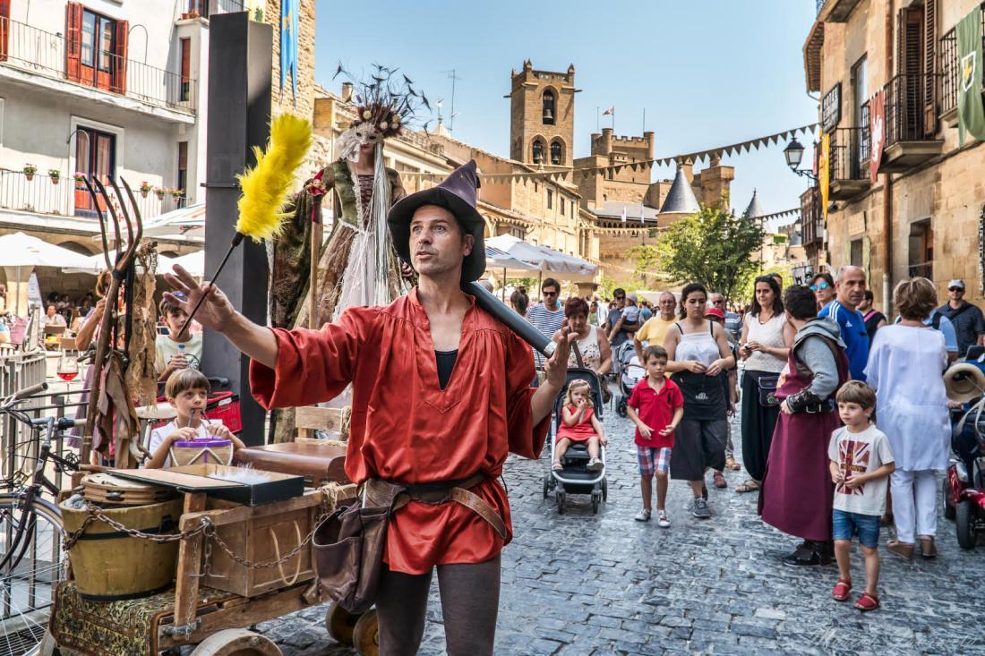 Festival Medieval de Olite. FOTO Marian Jaurrieta