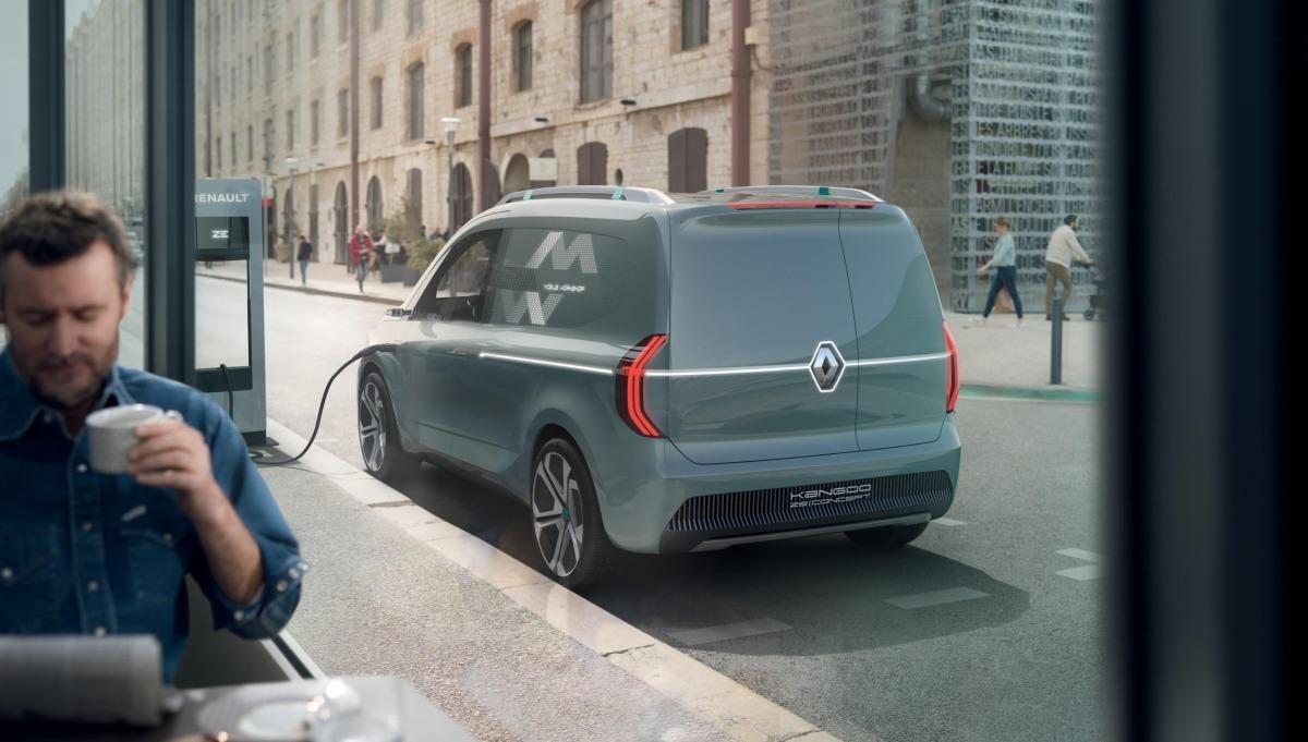 Renault Vehiculos comerciales. Kangoo.