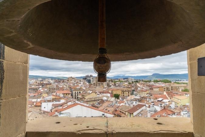 La campana Gabriela cumple 500 años en la Catedral de Pamplona. (Foto: Víctor Rodrigo)