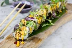 Sushita ofrece un menú amplio en el que la cocina japonesa es el centro.