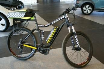 Bicicleta eléctrica expuesta durante los NaVEAC days.