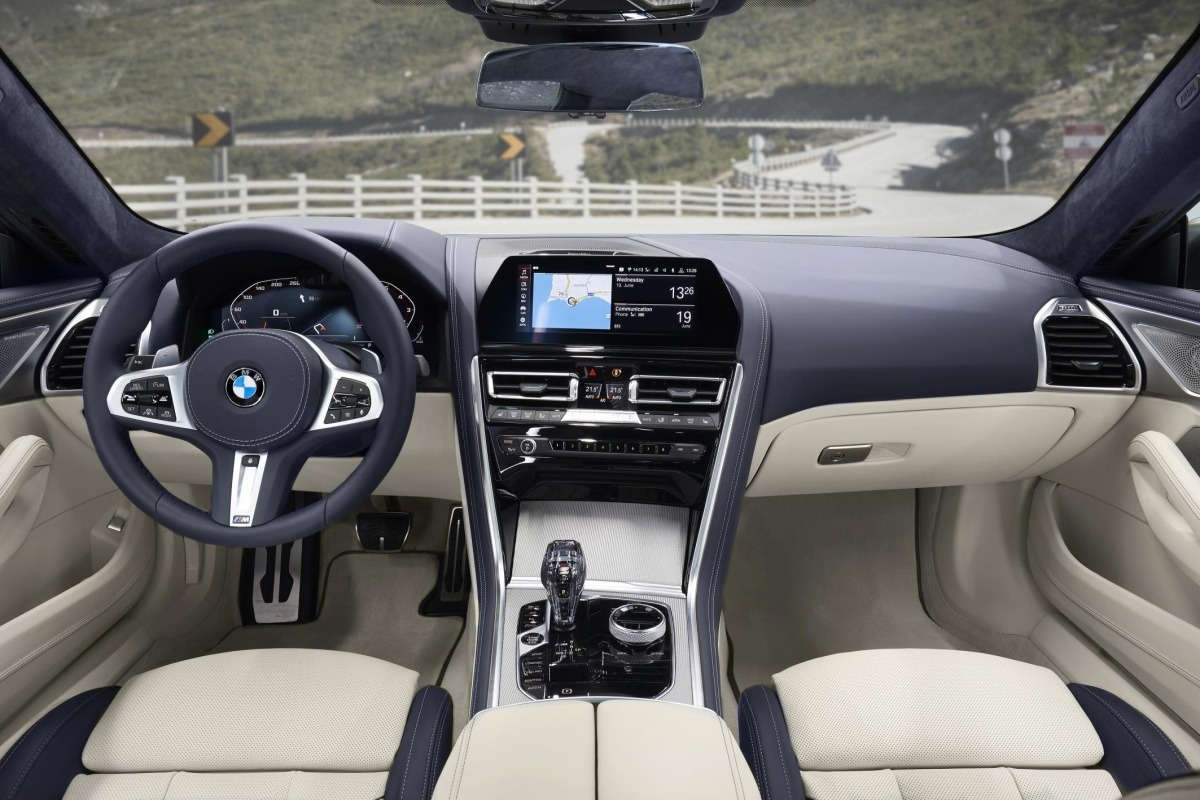 BMW serie 8 gran coupe 02 interior