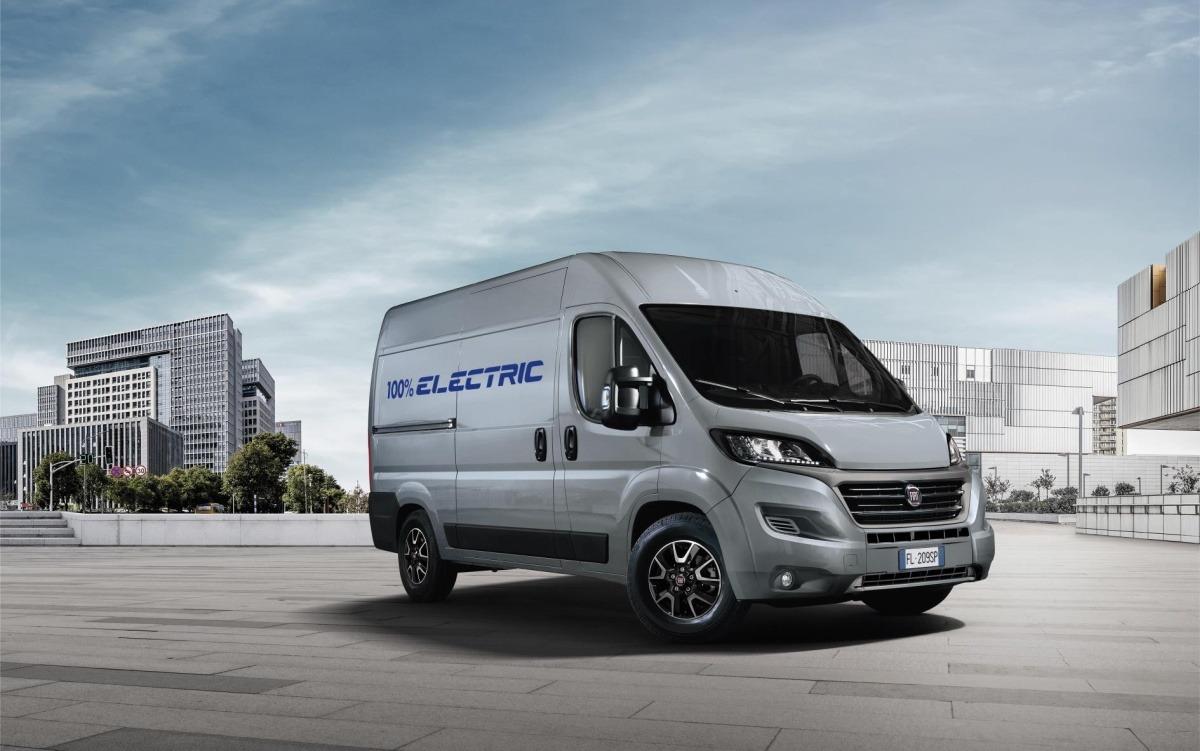 Fiat Ducato será el primer vehículo profesional de la marca 100% eléctrico.