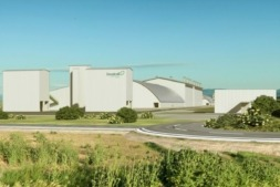 Imagen de las instalaciones de Geoalcali en la frontera entre Aragón y Navarra. El nuevo proyecto podría generar 800 puestos de trabajo.