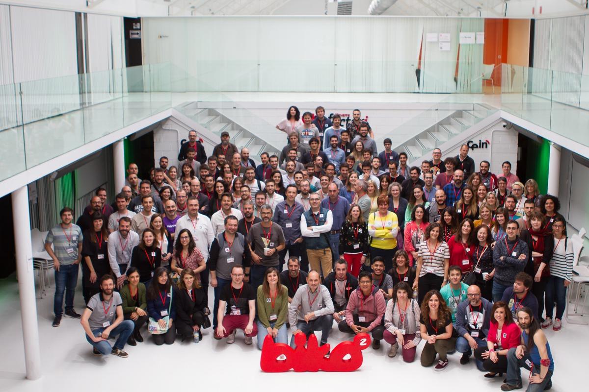 Los participantes en el XVII Open Space de Biko, en la sede de CEIN.