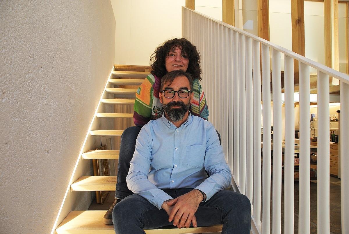 Alberto García y Olivia Blasco.