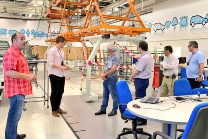 Una de las jornadas técnicas desarrollada por la Fundación Industrial Navarra.