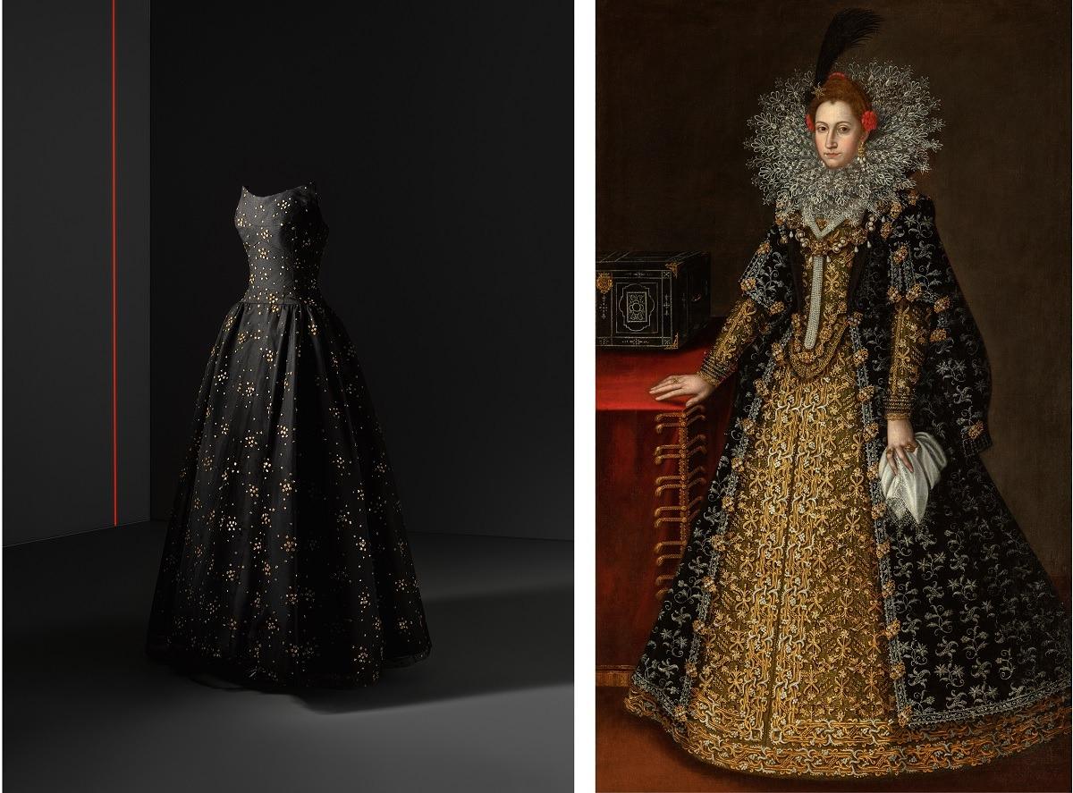 arte-museo-thyssen-expo-balenciaga-vestido-negro