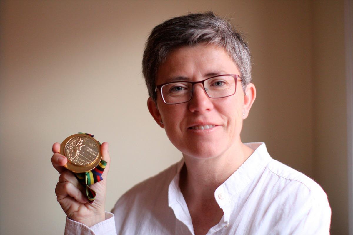 Maribel Martínez, medallista Olímpica ofrecerá una conferencia.