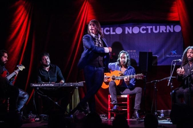 Carlos Jacoba, en Ciclo Nocturno Flamenco On Fire. FOTO: Javier Fergó.