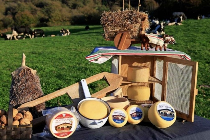 la quesería Kortariko Gasna, de Baztán, logró dos estrellas en cada uno de sus quesos Idiazabal Artzai-Gazta.