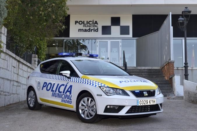 La Policía de Madrid ya circula con los Seat TGI.