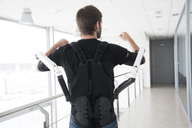 Los exoesqueletos pueden mejorar la calidad de vida de los trabajadores.
