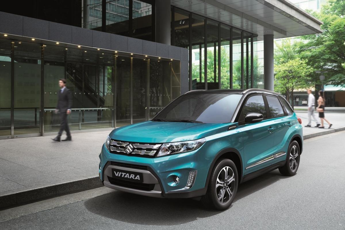 El modelo Vitara, estrella de la gama Suzuki.
