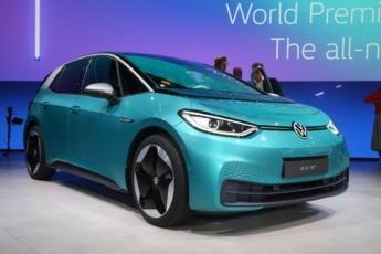 El VW ID3 ya hace uso de la realidad aumentada en su parabrisas.