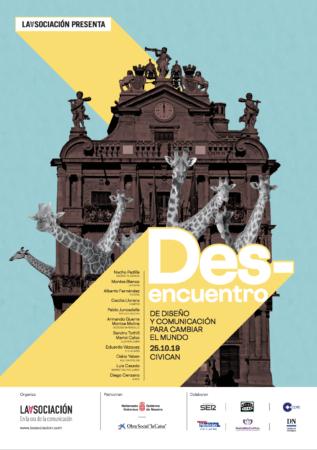 Cartel patrocinador del Des-encuentro.