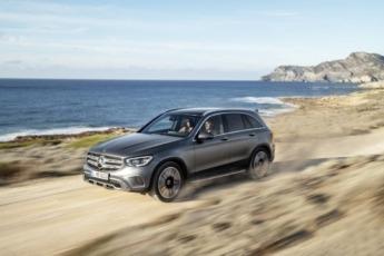 Las marcas premium ofertan una gama completa de SUV, como este GLC, de Mercedes.