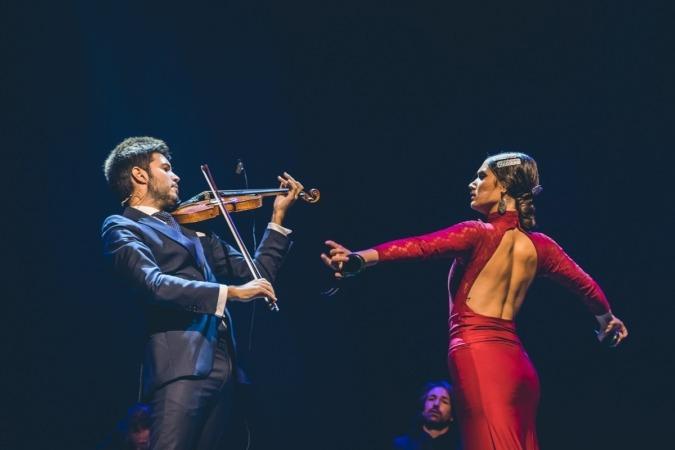 Montalvo es todo un fenómeno innovador en el mundo musical y el mejor violinista español.