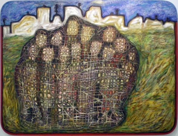 Patxi Buldain-La colmena contaminada, 1993
